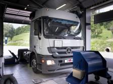 Mercedes Actros s LPG